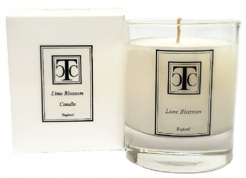 Lime Blossom Scented Candle 30 hour